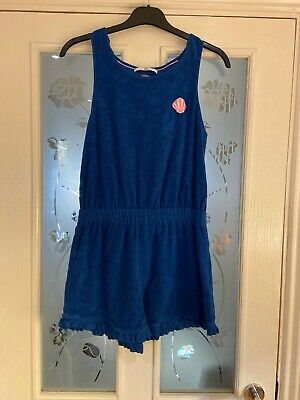 Girls Clothes Age 13-14 Years M&S Towelling Playsuit Summer Holiday Beach (277)