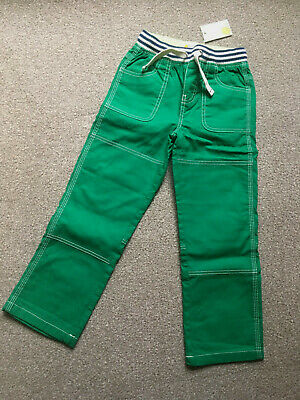 Mini Boden Kids trousers Green age 6 brand new with tags