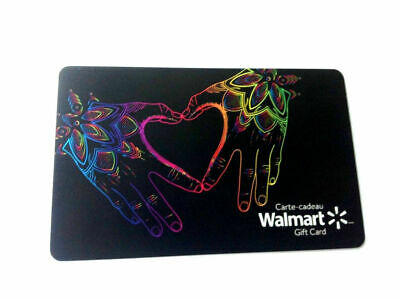 2018 Walmart Love You Mint Gift Card Bilingual No Value