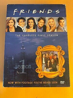 Friends - The Complete First Season (DVD, 2002, 4-Disc Set, Four Disc Boxed Set)