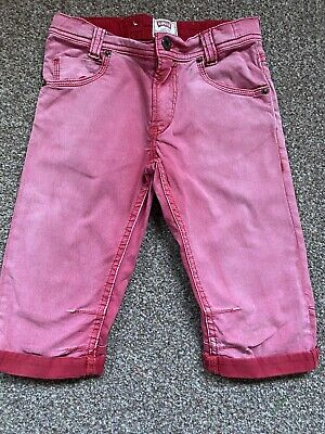 Boys Girls Levis Red Shorts Age 6