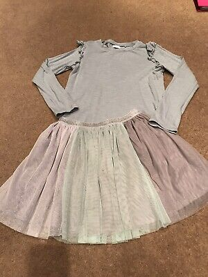 Next Girls Outfit Age 10 / 140cm Top & Skirt