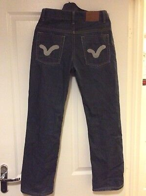 Boys Voi Navy Blue Jeans Size 28