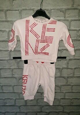 Baby Girls KENZO Full Tracksuit Age 6-9 Months
