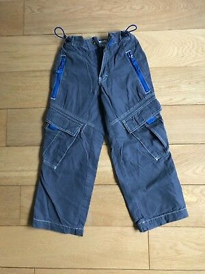 Mini Boden Boys Lined cargo trousers 5Y