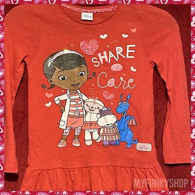 Disney Doc McStuffins T-Shirt - Aged 6-7 Years