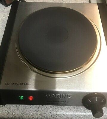 Waring SB30 Electric Professional Extra Burner 1300W Stainless Steel Portable