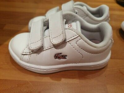 Lacoste Infant Size 4 Girls Trainers