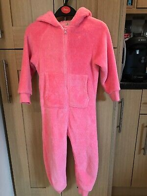 Next Girls Winter All In One Pyjamas Age 4 Years Vgc