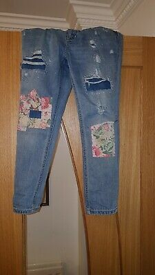 Girls Ralph Lauren Regular Slim Boyfriend Jeans Age 8 Years