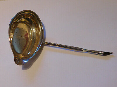 Antique Solid Silver English Hallmarked Ladle.