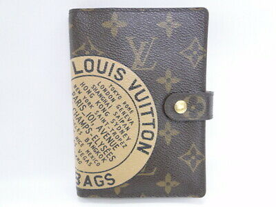 LOUIS VUITTON Agenda PM Cover T&B Monogram R21039 France Brown 07160256500 G