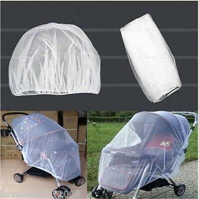 Universal Baby Stroller Mosquito Insect Net Cover May Bassinet For Childrens V/I