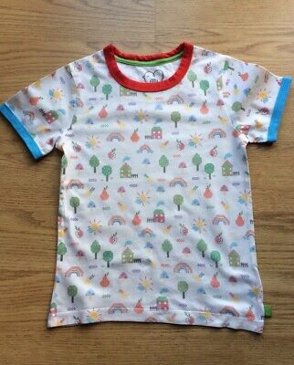 Mothercare Little Bird By Jools Oliver Offwhite Tshirt 4-5 Years 110cm