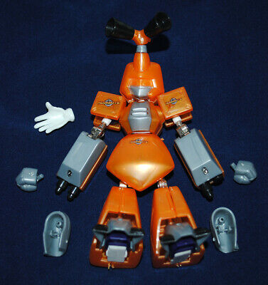 Rare MEDABOT Build Your Own Metabee Tinpet Buildable Figure Hasbro (incomplete)
