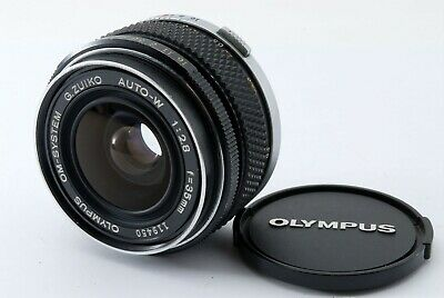 【Excellent++++】Olympus OM-SYSTEM G Zuiko Auto-W 35mm f/2.8 MF Lens from Japan 93