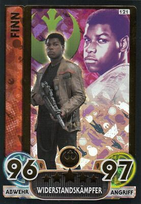 Topps Star Wars Force Attax Extra Movie 4 | Force Meister Glitzer Holo Auswahl