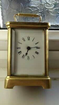 Pre 1900 antique carriage clocks