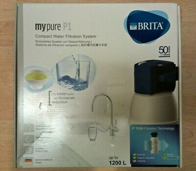 Brita my pure P1 Compact Water Filtration System