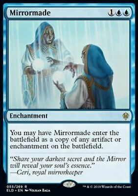 *Magic MtG: 2x Mirrormade (Rare) - Throne of Eldraine *TOP*