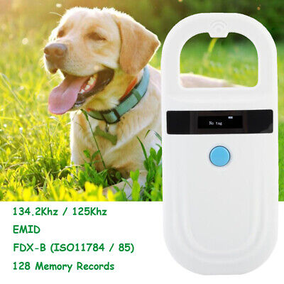 Pet ID Reader Animal Chip Digital Scanner USB Rechargeable Microchip New Arrival