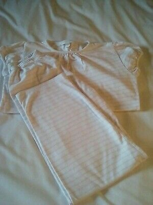 Little white company Girls Pjs  9/10 years in vgc