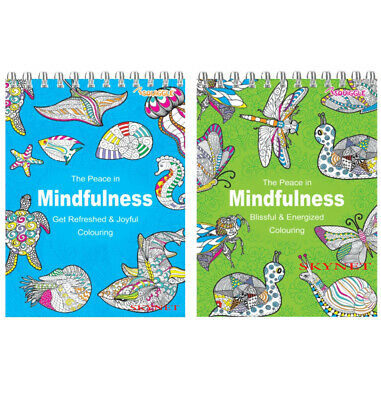 ADULT COLOURING BOOK BOOKS RELAXING Stress Relief Colour Therapy COUNTRY JOYFUL