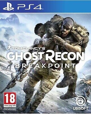 Ghost Recon Breakpoint  PS4   PLAYSTATION 4