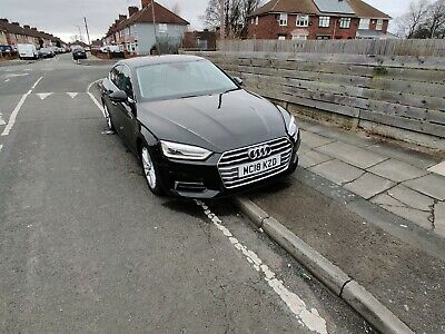 Audi A5 2018 18 plate 2.0 tdi auto ultra 6k miles only 5 door black 1 owner
