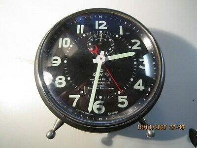 wehrle Alarm Clock Original Used But Great Condition