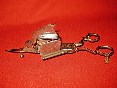 Rare Antique Victorian 1850s Candle Snuffer/Wick Trimmer By Thornhill  Patent.