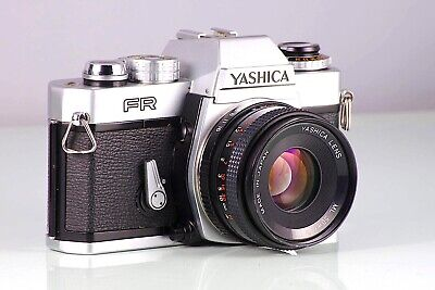YASHICA CLASSIC CAMERA REFLEX FR + F1.9 50 50mm ML CLAd MADE IN JAPAN VINTAGE