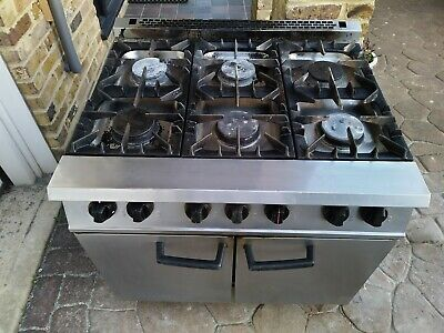 Falcon Dominator - 6 Burner Range / Double Oven - Gas - Commercial Catering -Six