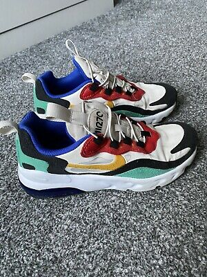 Nike Air 270 React Junior Trainers Size UK 1 Multicoloured