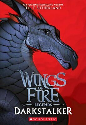 Wings of Fire: Darkstalker by Tui T. Sutherland 9781338053623 | Brand New