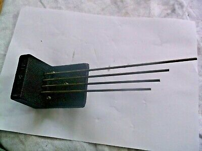 4 Fork Chimes  From An Old 4X4 Smiths Mantle Clock   Ref Vic 101