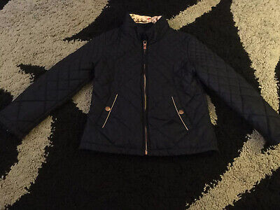 Girls Ted Baker Coat Jacket Age 10 Years With Detachable Faux Fur Collar