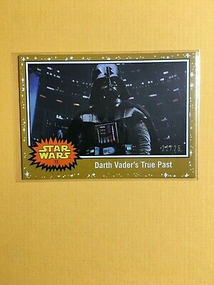Topps Star Wars Journey to Rise of Skywalker Gold Parallel /25 72