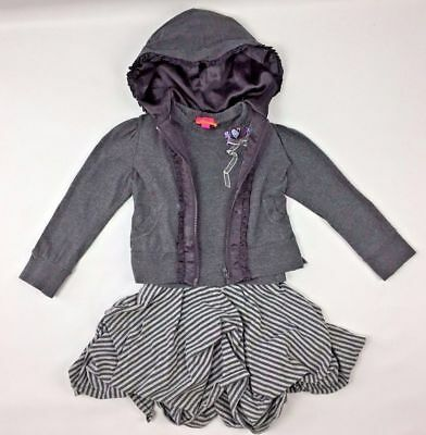 KATE MACK BISCOTTI Grey Outfit 3 4 Years