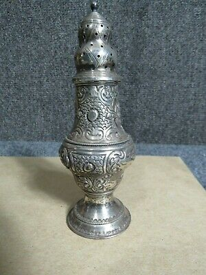 Antique Silver Shaker English silver Hall marked London