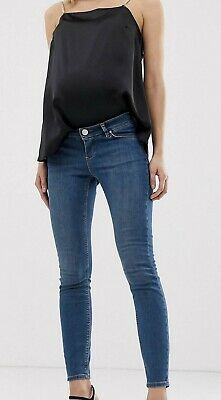 Maternity Mid Rise Skinny Jeans - Size 12