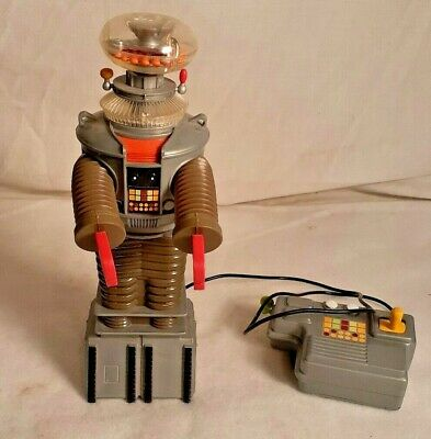 "Lost in Space 10. "" Radio Control Bog Robot Trendmasters 1998 (Battery operated)"