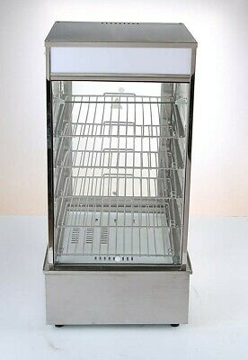 Commercial Stainless Steel Bun Steamer Large Chinese bun/Bread Warmer Display