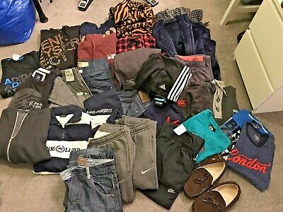 LARGE BUNDLE TEEN BOYS CLOTHES 14-16 Yrs Henri Lloyd Saltrock Nike Jack&jones ++
