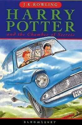Harry Potter and the Chamber of Secrets (Book 2) by J.K. Rowling, Paperback Used
