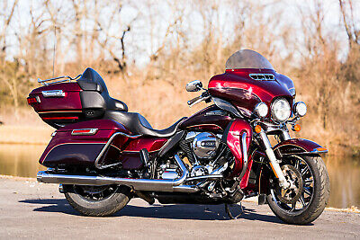 "2015 Harley-Davidson Touring  2015 Harley-Davidson Electra Glide Ultra Classic Low FLHTCUL Limited 6.5"" Screen"