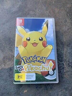 Pokemon Lets Go Pikachu! - Nintendo Switch Video Game