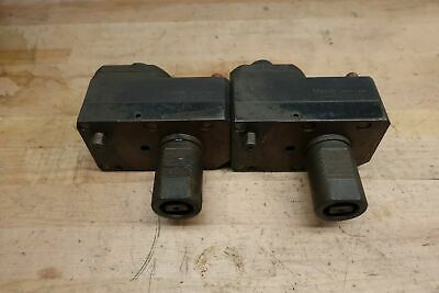 (QTY2) Mazak 53468010200 VDI 40 Live Offset Tapping Tool Holder ***PARTS ONLY***