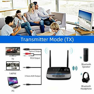 Bluetooth wireless 5.0 Transmitter Receiver 265FT Long Range