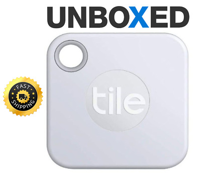 Tile Mate 2020 GPS Bluetooth Tracker - Key Finder Locator - White